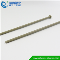 供应高强度耐辐射塑料螺丝PEEK螺丝