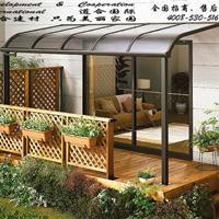 供应苏州铝合金窗棚露台棚雨棚供应商