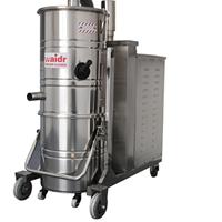 供应杭州工厂机器粉尘铁屑大功率工业吸尘器