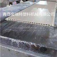 供应PVC木塑发泡墙板 竹木装饰墙面生产设备