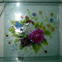 供应高精度玻璃uv喷绘 专业玻璃uv彩绘加工