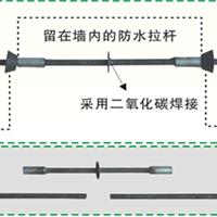 松茂地下室外墙新型节能型止水螺杆螺栓厂家