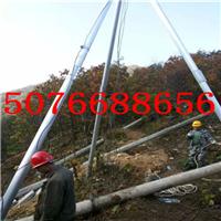 供应人字抱杆|三角架立杆器|电线杆立杆机