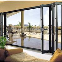 供应 迪优 铝合金有框折叠门