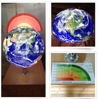 供应地球内发光构造球模型制作