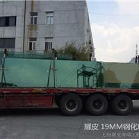钢化厂批发 南京南通常州15mm钢化隔断玻璃