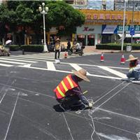 供应珠海三灶唐人街道路标线项目