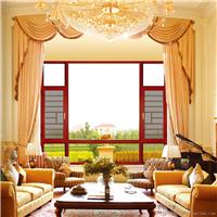 伊盾安全门窗,120系列客厅窗纱一体平开窗