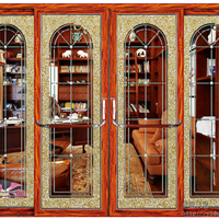 伊盾安全门窗,欧盾开放式书房隔断推拉门