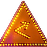 供应太阳能向右急转弯标志牌
