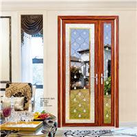 伊盾安全门窗,铝合金子母平开门,入户花园门