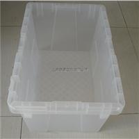 供应500注塑箱 白色食品周转箱