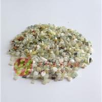 供应岫玉卵石 鹅卵石 玉石粒 装饰滚石