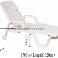 供应可折叠塑料沙滩椅  沙滩椅厂家直销