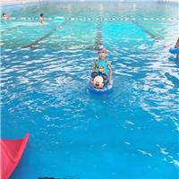 天蓝色游泳池防水装饰漆环氧装饰漆