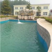 景观池内衬天蓝色防水装饰漆生产厂家