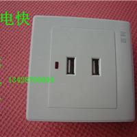 2孔明装USB插座36V