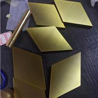 供应201/304不锈钢镀铜板 古铜色不锈钢板