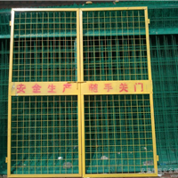 电梯井道安全门_电梯井道安全门现货_超翔图