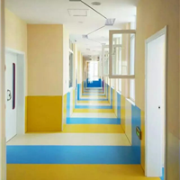 济南阿姆斯壮塑胶地板幼儿园塑胶地板