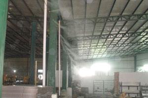 工厂喷雾加湿工程深圳喷雾降温工程规模