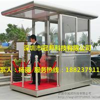 供应不锈钢艺术岗亭 出口不锈钢高质量岗亭