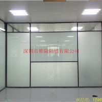 龙岗铝合金玻璃隔断-单玻-双玻-双玻百叶