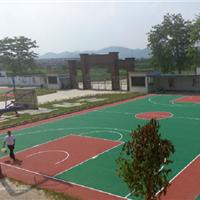 硅PU球场跑道承接球场跑道羽毛球场地坪工程