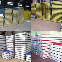 供应东营泡沫/岩棉/玻璃棉彩钢复合板