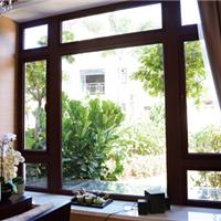 供应断桥门窗 铝木门窗 中空玻璃窗