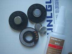 供应天诺6218不锈钢铝材与塑料粘接瞬干胶水