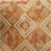 供应佛山轩航陶瓷300*300镀金小地砖