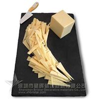 供应西餐厅天然板岩奶酪餐盘