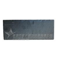 供应特色长方形天然板岩餐盘餐垫