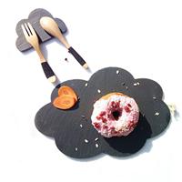 供应创意天然花朵板岩餐盘餐垫