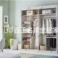 百王名家全铝衣柜 全铝衣柜铝材 衣柜配件