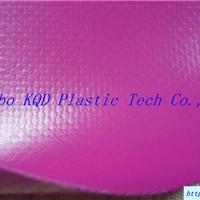 供应紫色涂刮PVC夹网布