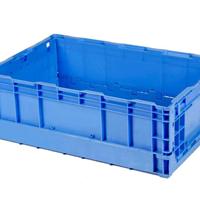 供应上海本田S602折叠周转箱 食品注塑箱