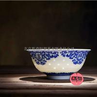 供应青花玲珑碗,陶瓷碗批发
