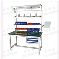供应双抽屉工作台实验桌检验桌车间操作台