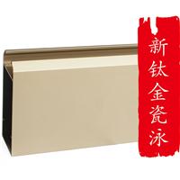 长期批发佛山铝合金钛金瓷泳型材