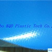 供应1000D蓝色PVC夹网布