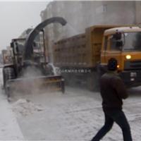 供应斧山机械抛雪机图片
