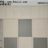 南宁的衣柜家具定制工厂手机贴膜般完美板纹