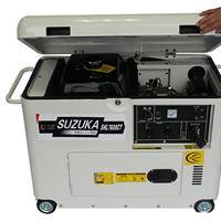 供应5000W翻盖式静音柴油发电机