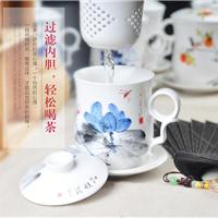 陶瓷杯子厂家,商务茶杯厂家