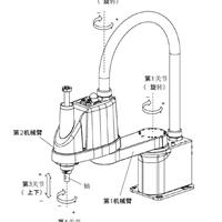 供应水平多关节SCARA机械手谐波减速机