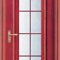 供应大浩湖原木门,实木玻璃卫生间门。