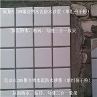 高分子益胶泥配方聚合物防水砂浆配比瓷砖胶