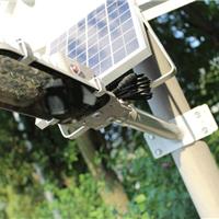 供应超亮户外太阳能一体化挑臂led路灯